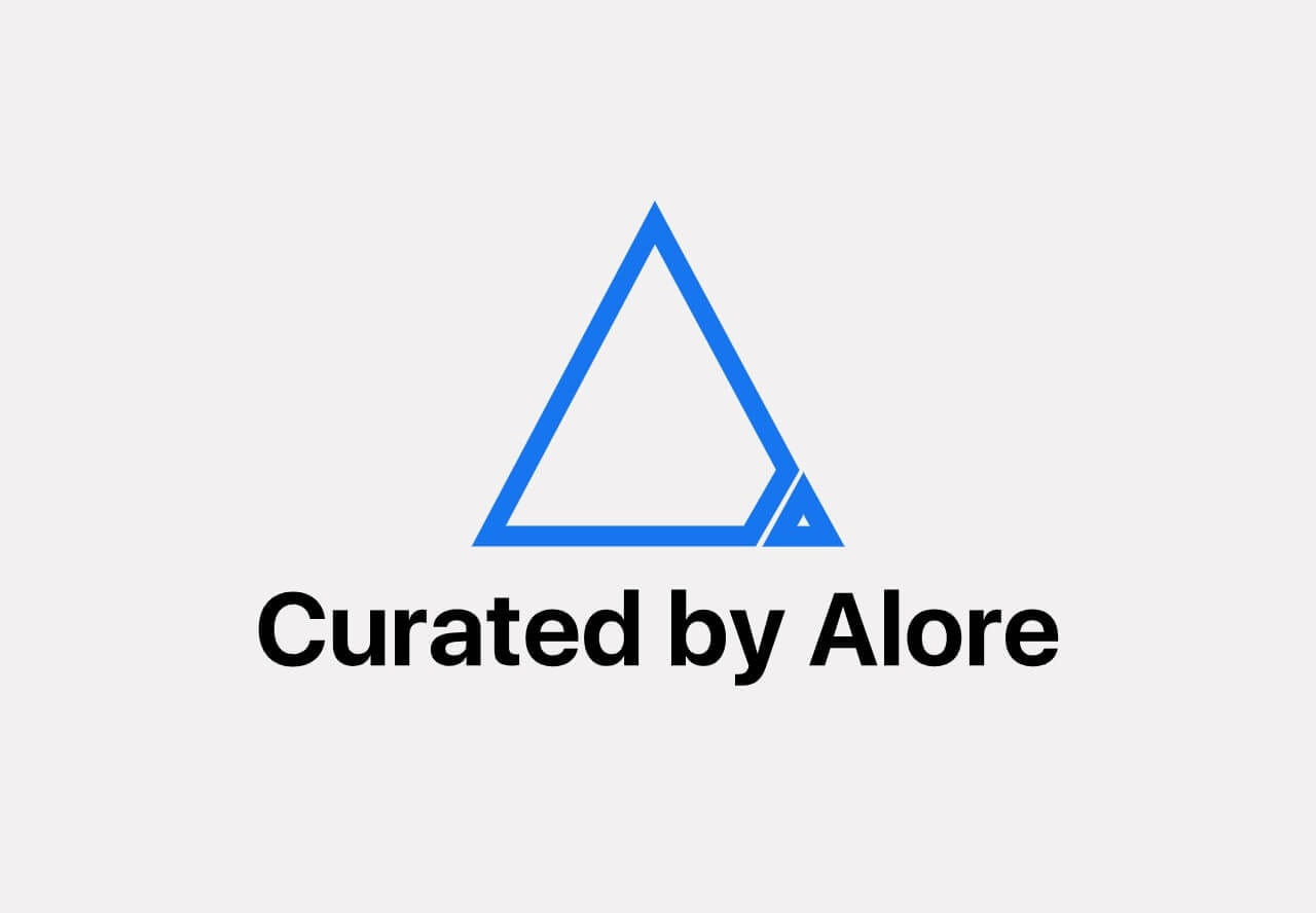 Curated by Alore lifetime deal logo