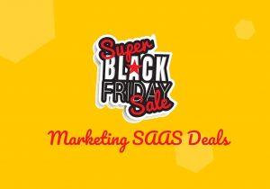 Black Friday SAAS deals