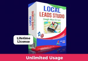 Local Lead Studio deal for scraping leads from google maps