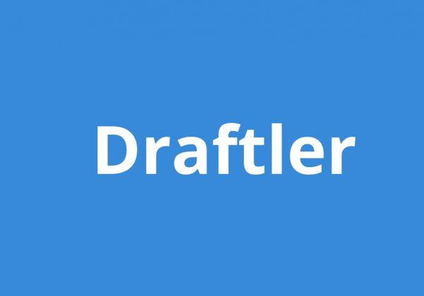 Draftler easy drag and drop website builder